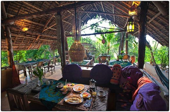 Eetzicht 200615 0911 Bellevue guesthouse Bwejuu Zanzibar_HDC0875