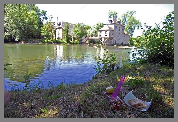 Eetzicht, Poitiers, Moulin de Chasseigne VHEV