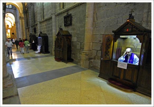 Biechtstoel Santiago de Compostela 1