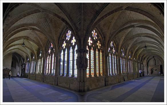Kloostergang kathedraal Burgos