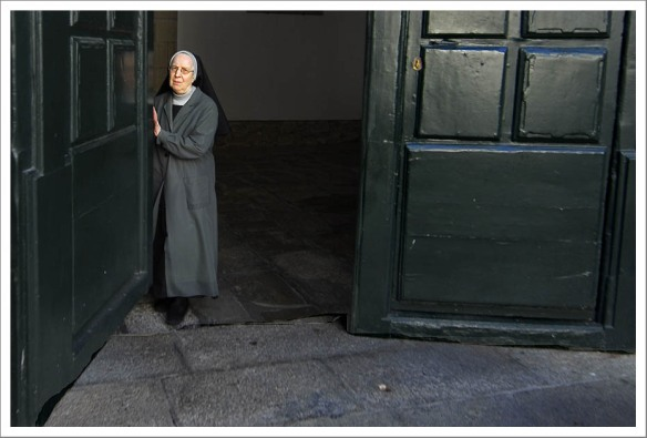 Non in deur Convento de San Paio de Antealtares, Santiago de Compostela