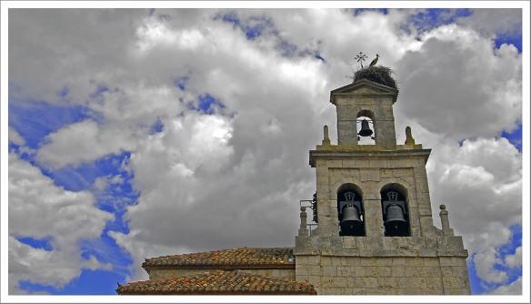Ooievaarsnest kerk Cardeñajimeno