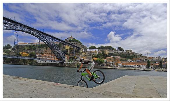 Porto fietsduik
