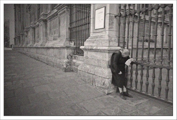 Vrouw kathedraal Sevilla