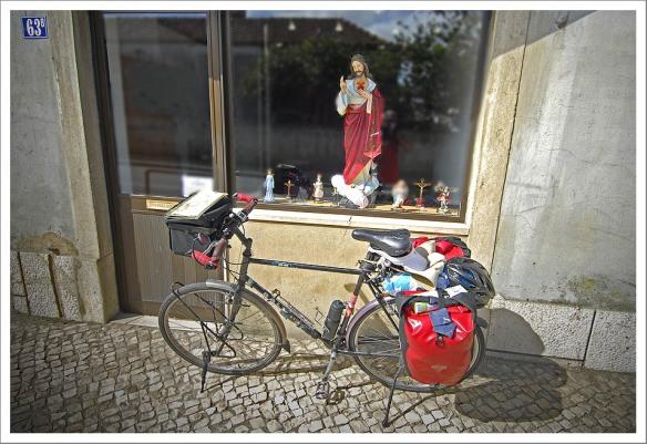 Zegening fiets