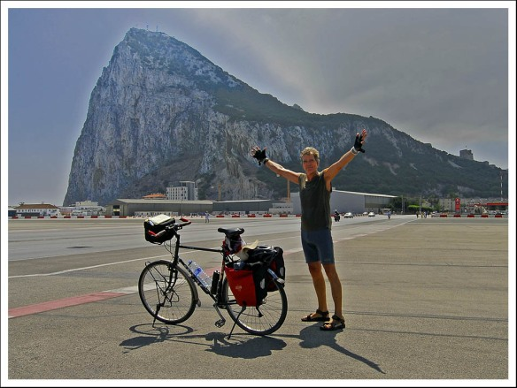 Hans aankomst Gibraltar 2