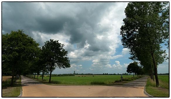 Bij Gasselte, op de rand van Drenthe en de Groningse veenkoloniën.