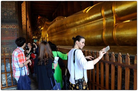 Selfie met Boeddha
