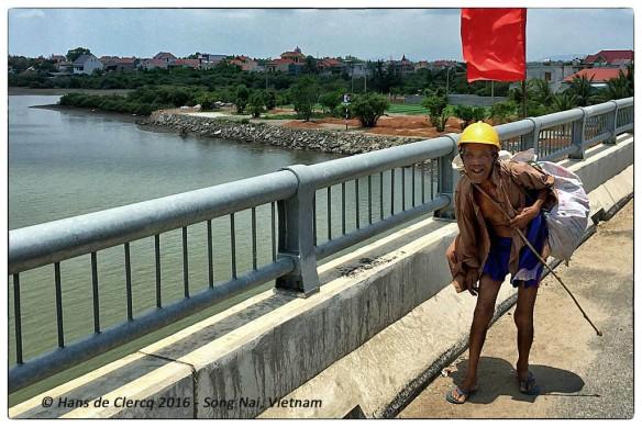 Old Man crossing the bridge  IMG_8533